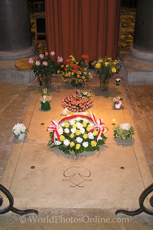 Monaco - Cathedral of Monaco - Princess Grace Grave