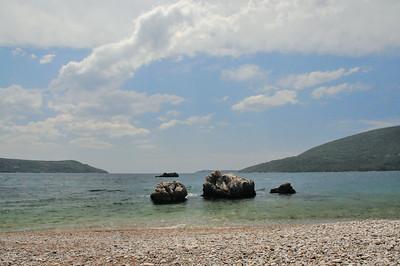 L'ouverture des bouches de Kotor sur la mer Adriatique