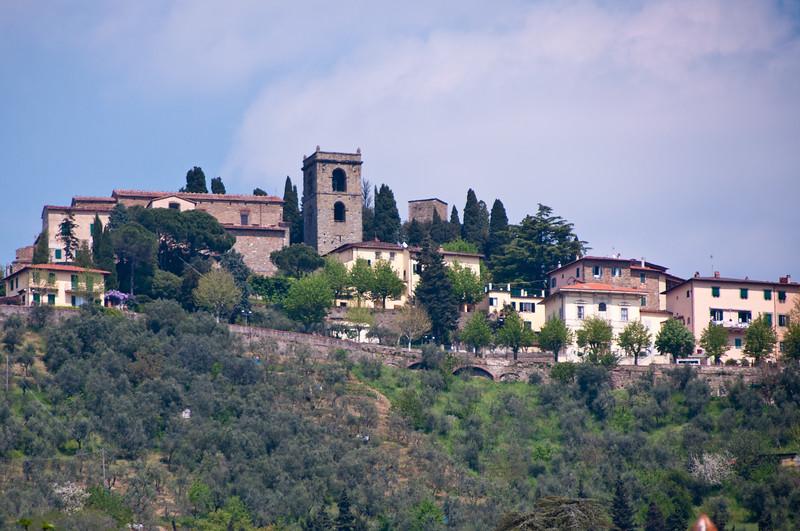 Upper City, Montecatini Terme, Italy