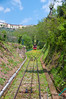 Funicular to upper city. Montecatini Terme, Italy