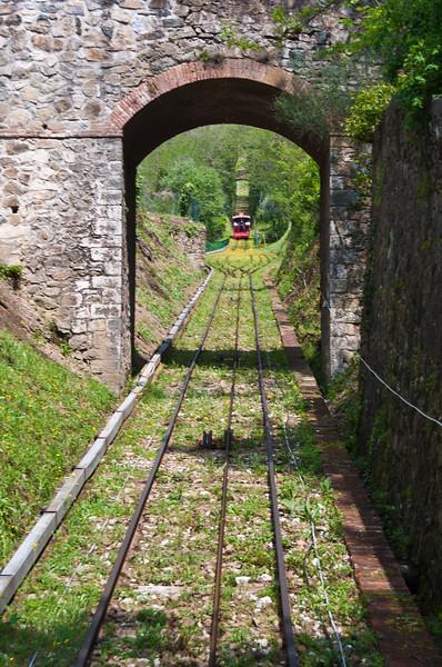 Funicular. Montecatini Terme, Italy
