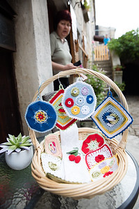 Many people in the old towns survive by selling 'home made' handicrafts to the many tourists who pass through