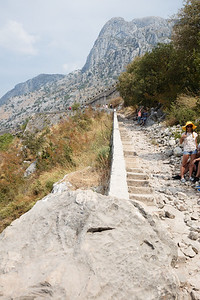 But to reach the fort one must climb and endless series of stairs to reach the top of the mountain