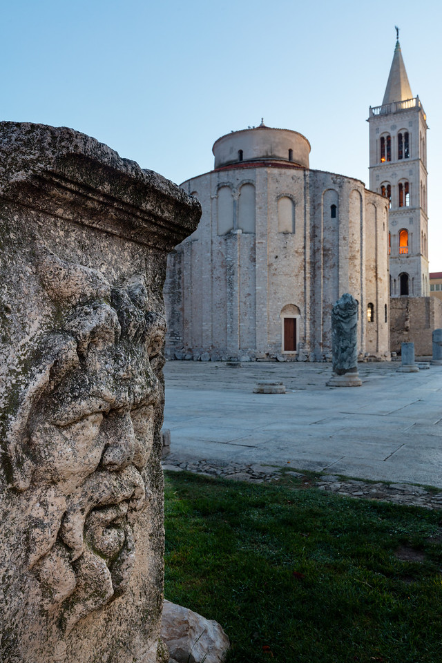 The  Church of St Donatus was begun in the 8th century, but the surrounding ruins date back to the Greeks