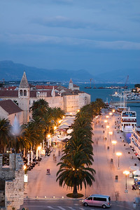 Tigor is one the many small Adriatic cities with an active night life and busy harbor