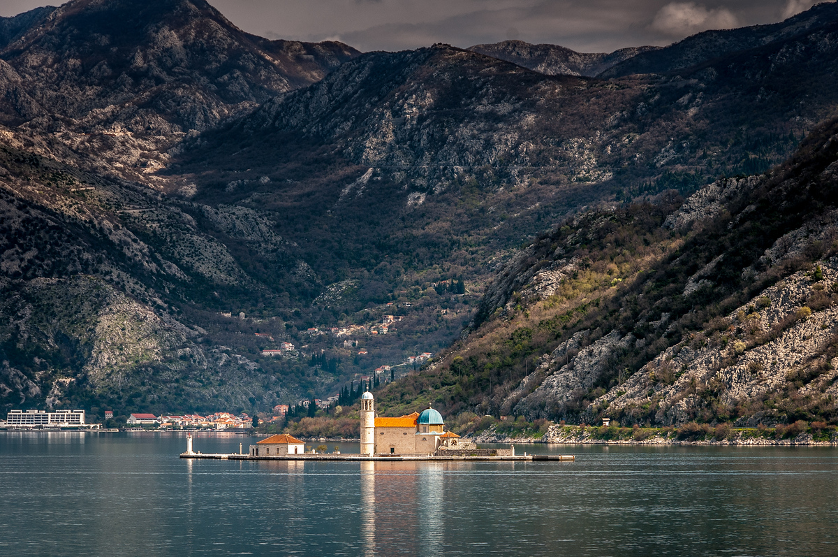 Island of St George off the Coast of Kotor, Montenegro