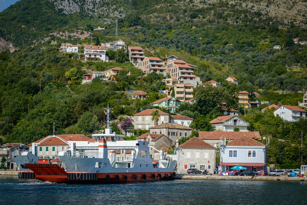 Ferry on Bay of Kotor