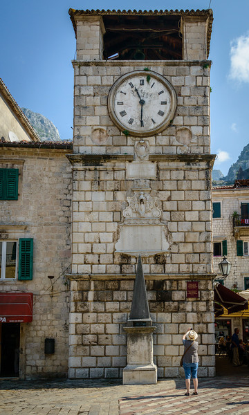 Kotor Old Town Clock Tower