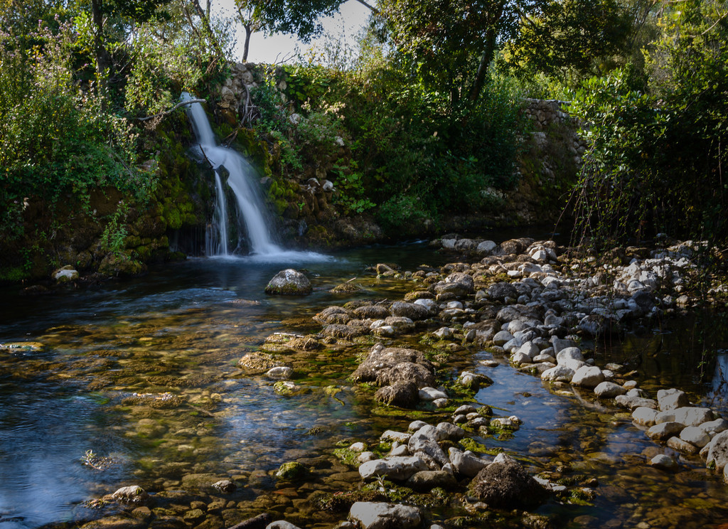 Falls near Gruda Croatia