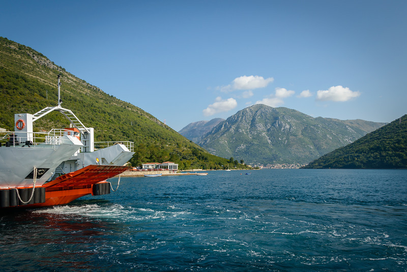 Verige Straight, Bay of Kotor, Montenegro