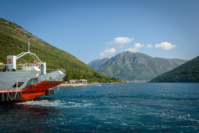 Verige Straight, Bay of Kotor, Montenegro