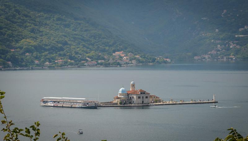 St George island, Kotor Bay