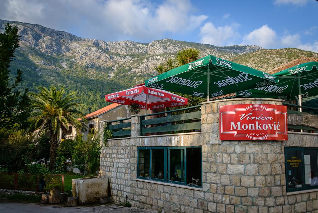 Tavern Near Gruda Croatia