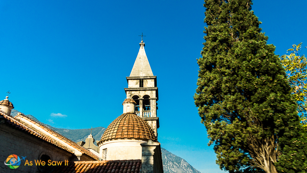 Steeple in Perast