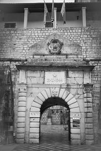 Gate to Kotor; Montenegro