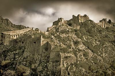 Part of Kotor's Mountainous Wall