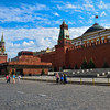 The Kremlin walls, Red Square