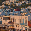 Mykonos Town at sunset