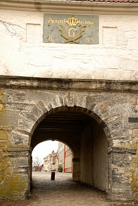 The entrance to the old town...