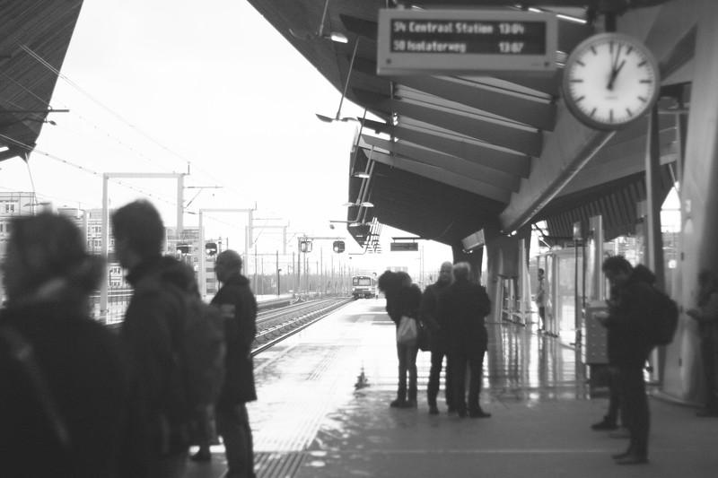 Bijlmer Station. February 2013