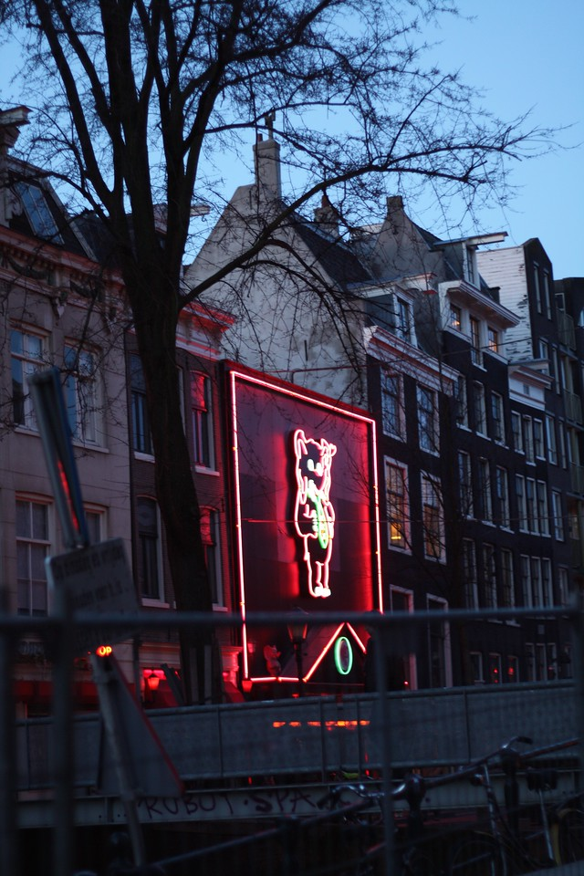 Red light district. January 2013