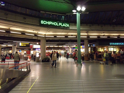 Schiphol Plaza. Shopping centre at Amsterdam Schiphol Airport.