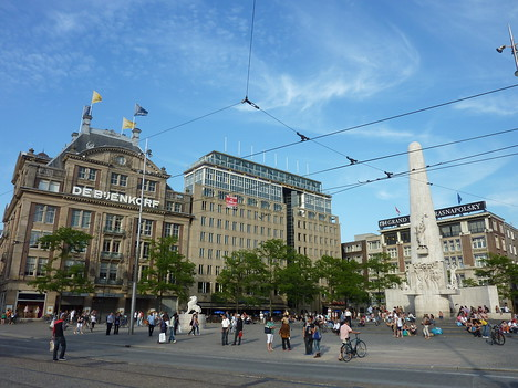 Dam Square, Amsterdam - Netherlands