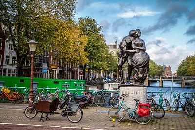 Romantic Amsterdam.