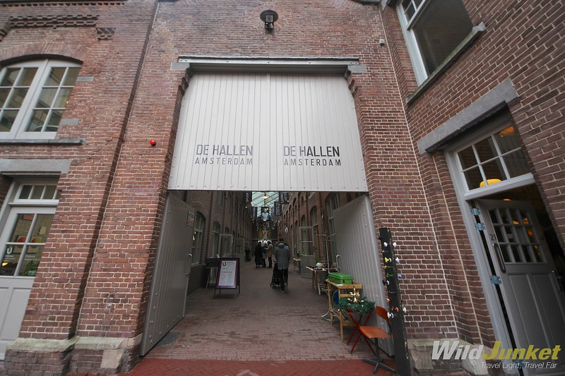 de hallen amsterdam- coolest place to go in amsterdam