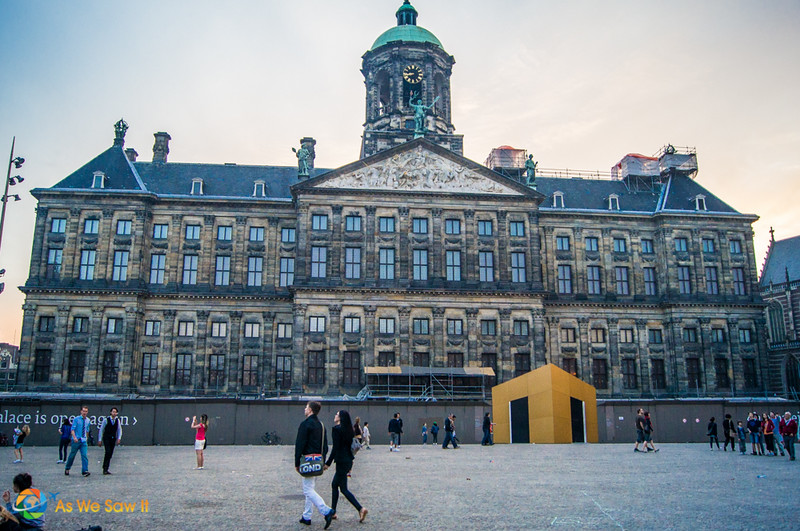 Front of Royal Palace on Dam Square