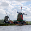 Windmills at Zaanse Schans, Netherlands