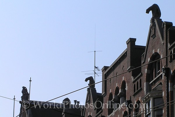Amsterdam - Rooftop Gargoyles
