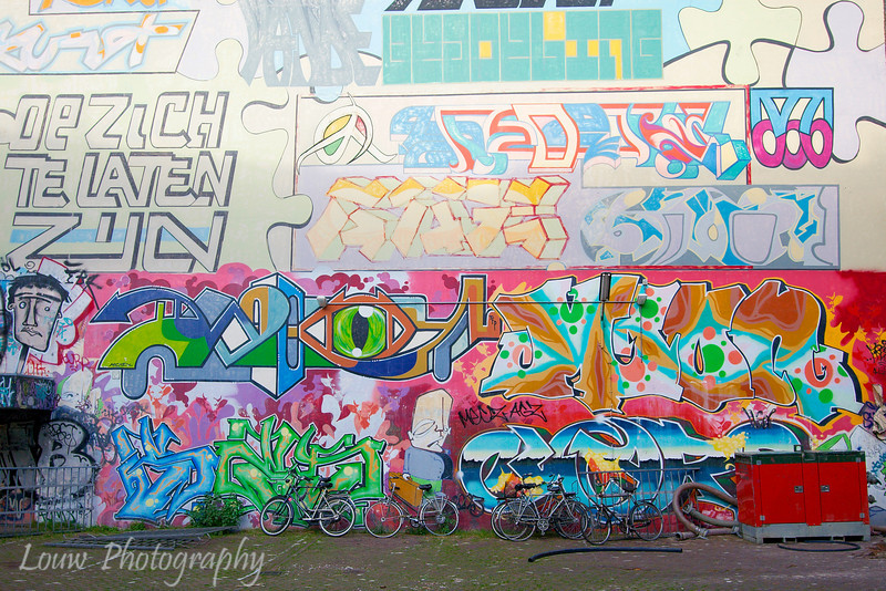 Graffiti, Amsterdam, Netherlands