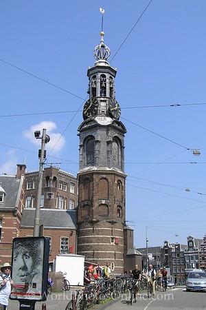 Amsterdam - Muntplein - Regulier's gate tower