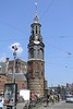 Amsterdam - Muntplein - Regulier's gate tower