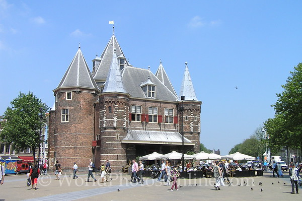 Amsterdam - Waag 'Weight House' City Gate