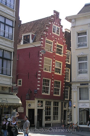 Amsterdam - Old Town Leaning Building