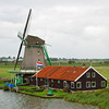 Windmill at Zaanse Schans, Netherlands
