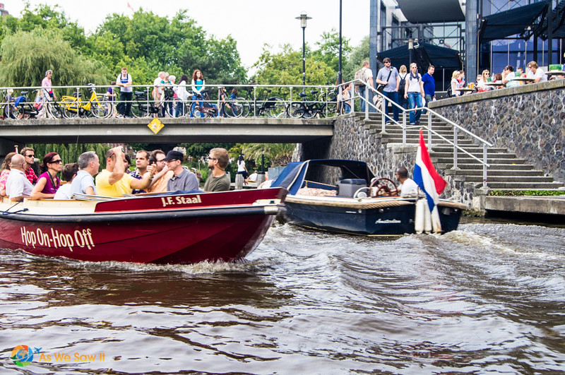 Visite des canaux d'Amsterdam à arrêts multiples