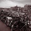 Bicycle parking garage near Amsterdam Centraal, Amsterdam, Netherlands