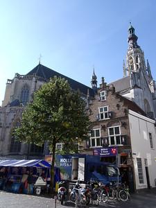 Grote Markt and Grote Kerk, Breda - Netherlands.