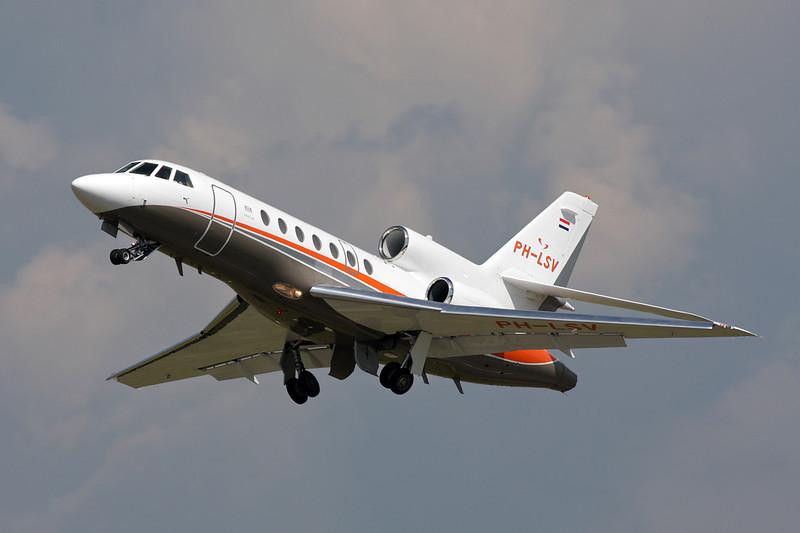 PH-LSV Dassault Falcon 50EX c/n 315 Colmar/LFGA/CMR 22-06-08