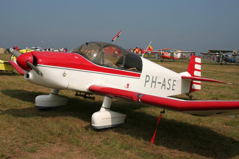 PH-ASE SAN Jodel DR.1050 c/n 142 Schaffen-Diest/EBDT 12-08-07
