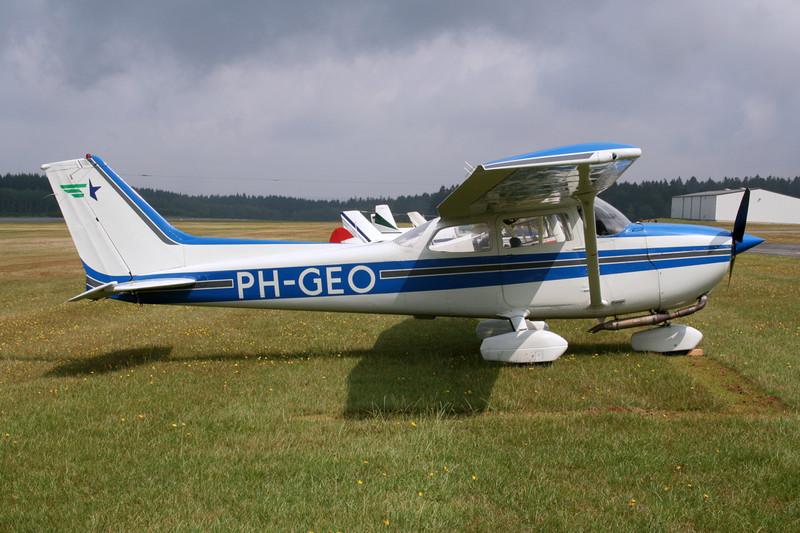 PH-GEO Reims-Cessna F.172N c/n 1837 Spa-La Sauveniere/EBSP 05-08-06