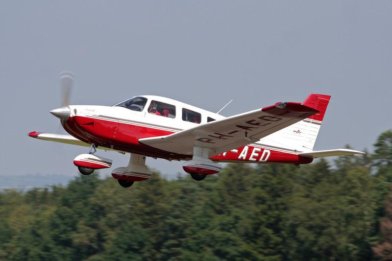 PH-AED PIper PA-28-181 Archer III c/n 2843089 Spa-La Sauveniere/EBSP 04-08-07