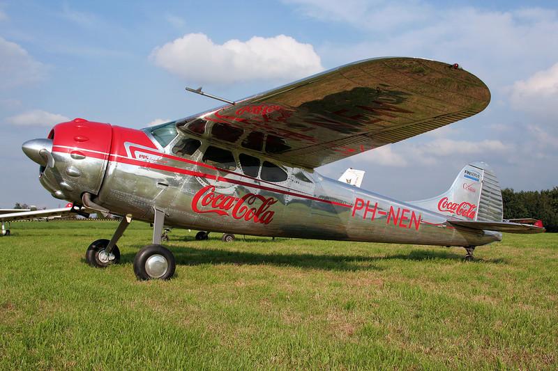 PH-NEN Cessna 195 c/n 7496 Verviers-Theux/Laboru 01-09-07