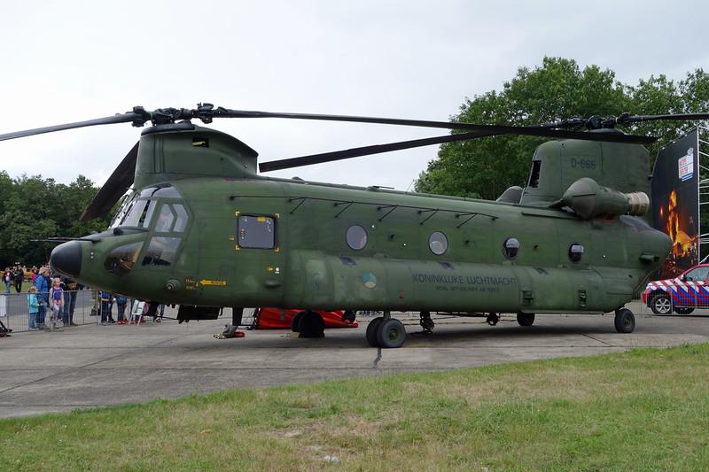 "D-665 Boeing-Vertol CH-47D Chinook ""Royal Netherlands Air Force"" c/n M3665 Gilze-Rijen/EHGR 20-06-14"