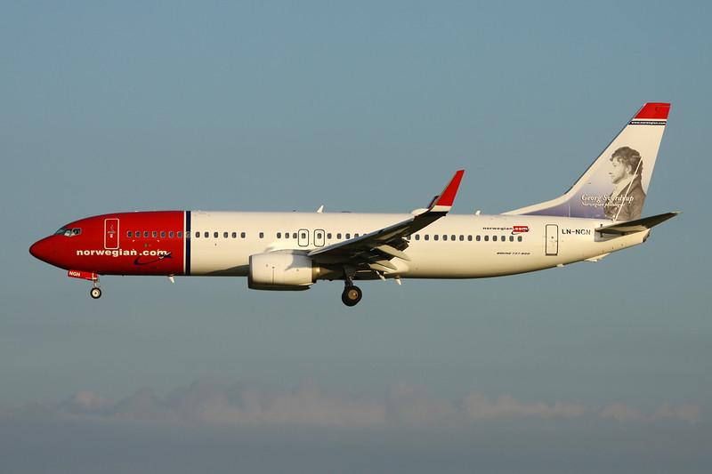 "LN-NGN Boeing 737-8JP c/n 39025 Paris-Orly/LFPO/ORY 08-06-15 ""Georg Sverdrup"""