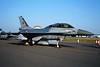 "J-211 General Dynamics F-16BM Fighting Falcon ""Royal Netherlands Air Force"" c/n 6E-30 Fairford/EGVA/FFD 25-07-99 (35mm slide)"