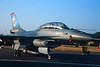 "J-265 General Dynamics F-16B Fighting Falcon ""Royal Netherlands Air Force"" c/n 6E-7 Fairford/EGVA/FFD 25-07-99 (35mm slide)"
